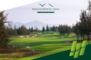 "Montgomerie Links and honorable award ""One of the Best Golf Clubs Of Vietnam 2018"